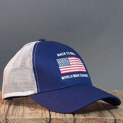 497391bfc9c Hats Visors - Stitch Back To Back World War Champs Mesh Hat In Navy By