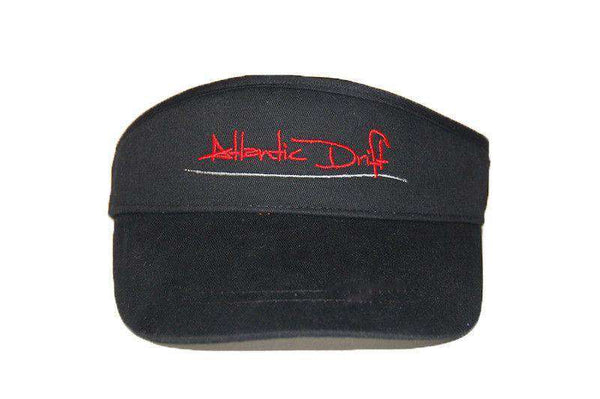 Hats/Visors - Tailgate Visor In Black By Atlantic Drift - FINAL SALE