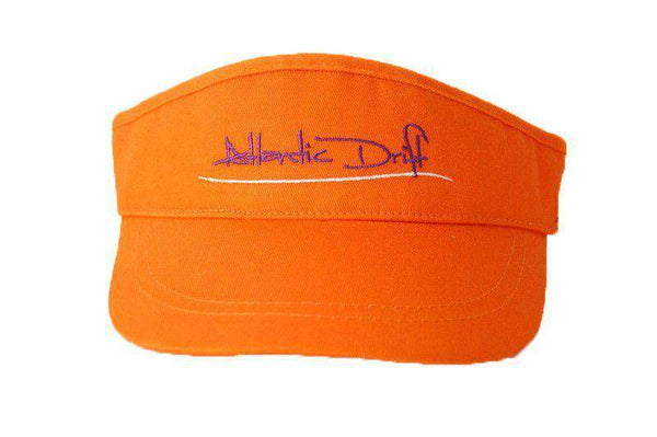 Hats/Visors - Tailgate Visor In Orange By Atlantic Drift - FINAL SALE