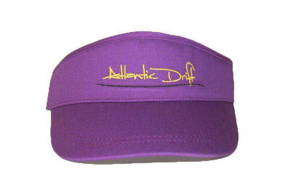 Hats/Visors - Tailgate Visor In Purple By Atlantic Drift - FINAL SALE