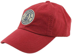 Tartan Logo Cap in Red Brick by Brewer's Lantern
