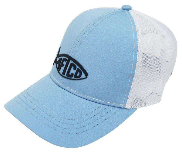 Tech Cooler Fishing Hat in Sky Blue by AFTCO