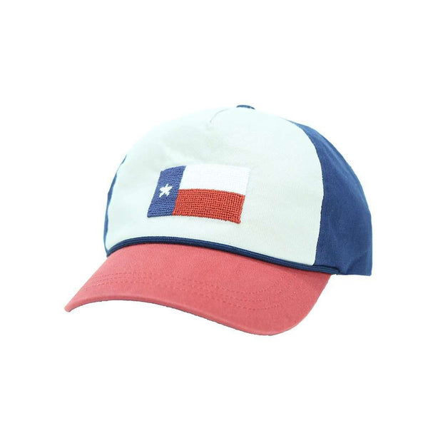 cba4791f189 Hats Visors - Texas Flag Needlepoint Rope Snapback Hat In Stone