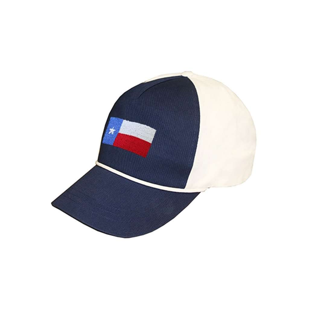 14bfe8ca810 get smathers branson texas flag rope snapback needlepoint hat in navy white  country club prep 10e49