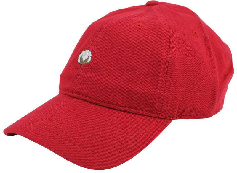 Hats/Visors - The Boll Hat In Red By Cotton Brothers