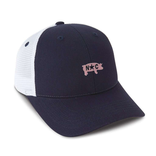 The Carolina BBQ Mesh Hat in Navy by Imperial Headwear - FINAL SALE