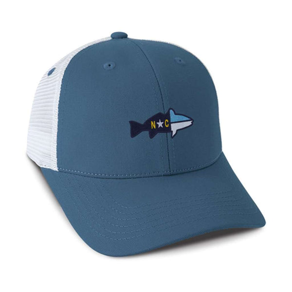 Hats/Visors - The Cascade Mesh Hat In Blue By Imperial Headwear