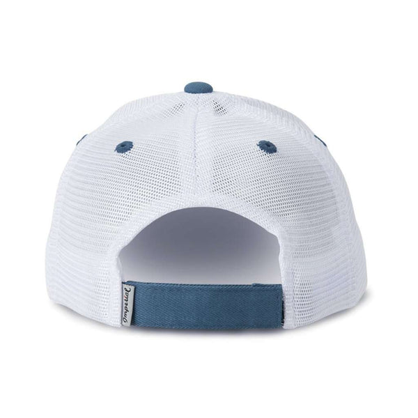 The Cascade Mesh Hat in Blue by Imperial Headwear - FINAL SALE