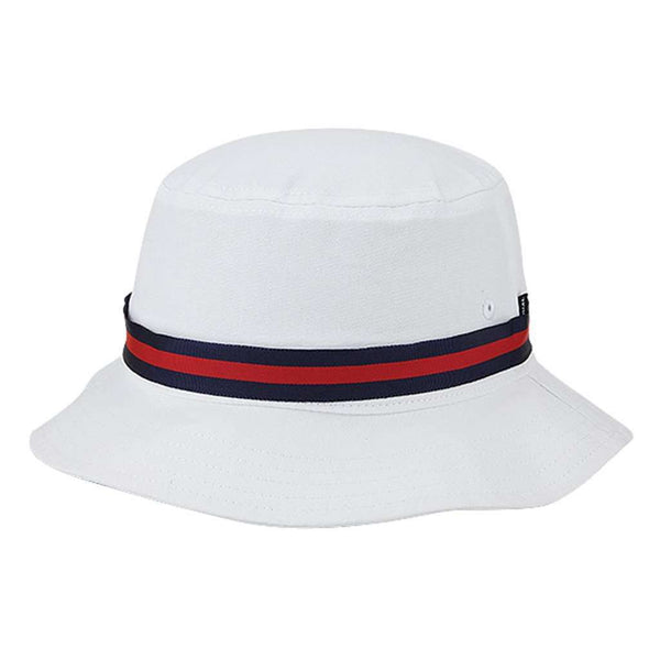 The Cinderella Story Bucket Hat in White by Imperial Headwear - FINAL SALE