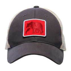 The Dano Trucker Cap in Grey by The Normal Brand