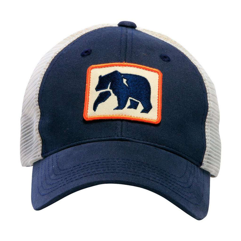 The Dano Trucker Cap in Navy by The Normal Brand
