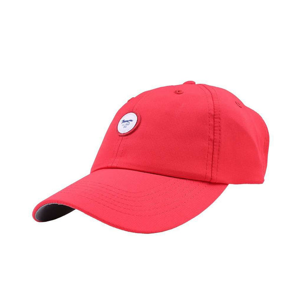 The Founders Patch Performance Hat in Red Pepper by Imperial Headwear