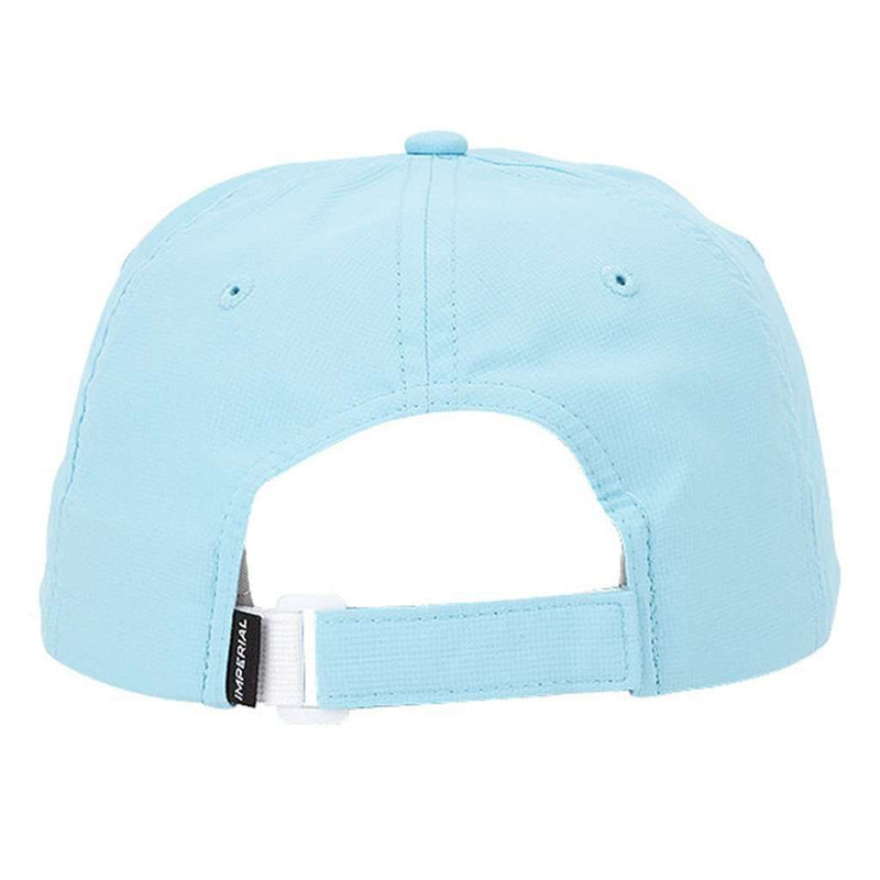 The Putting Bear Performance Hat in Light Blue by Imperial Headwear