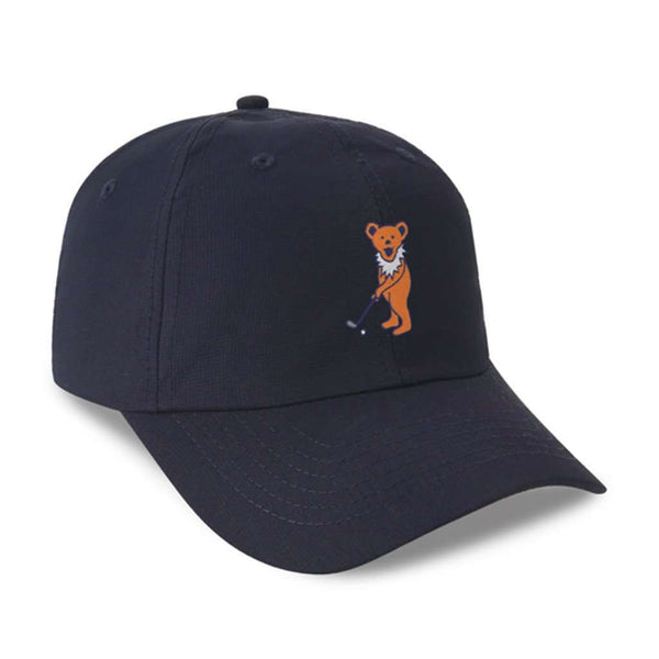 The Putting Bear Performance Hat in Navy by Imperial Headwear