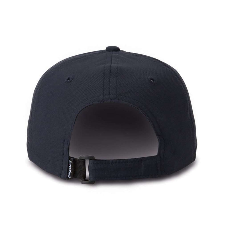 Hats/Visors - The Putting Bear Performance Hat In Navy By Imperial Headwear