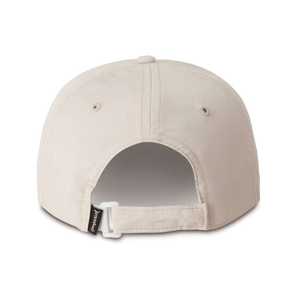 The Putting Bear Performance Hat in Putty by Imperial Headwear