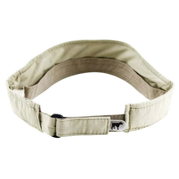 The SPC Dri-Fit Visor in Khaki by Southern Point Co.