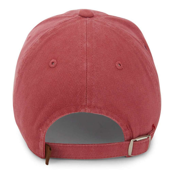 The Topsail Hat in Faded Red by Imperial Headwear - FINAL SALE