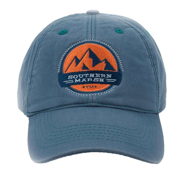 49f2f2c7 Thompson Twill Summit Hat in Washed Blue by Southern Marsh