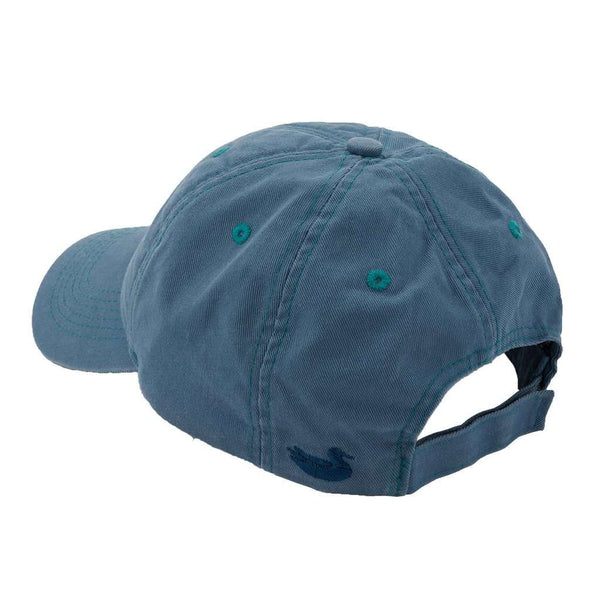 Thompson Twill Summit Hat in Washed Blue by Southern Marsh