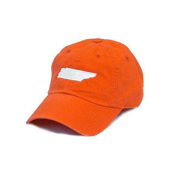 TN Knoxville Gameday Hat in Orange by State Traditions - Country Club Prep