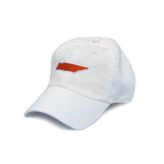 TN Knoxville Gameday Hat in White by State Traditions - Country Club Prep