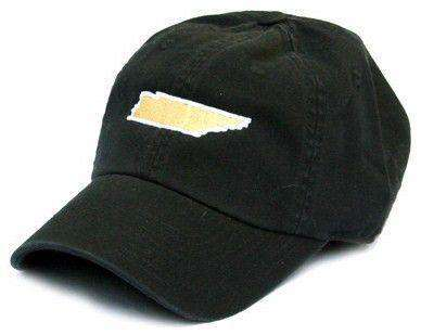 TN Nashville Gameday Hat in Black by State Traditions