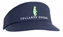 Tour Golf Visor in Navy by Collared Greens