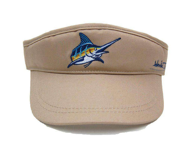Hats/Visors - Tour Visor In Khaki By Atlantic Drift - FINAL SALE