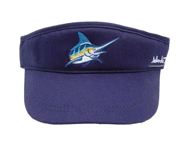 Hats/Visors - Tour Visor In Navy By Atlantic Drift - FINAL SALE