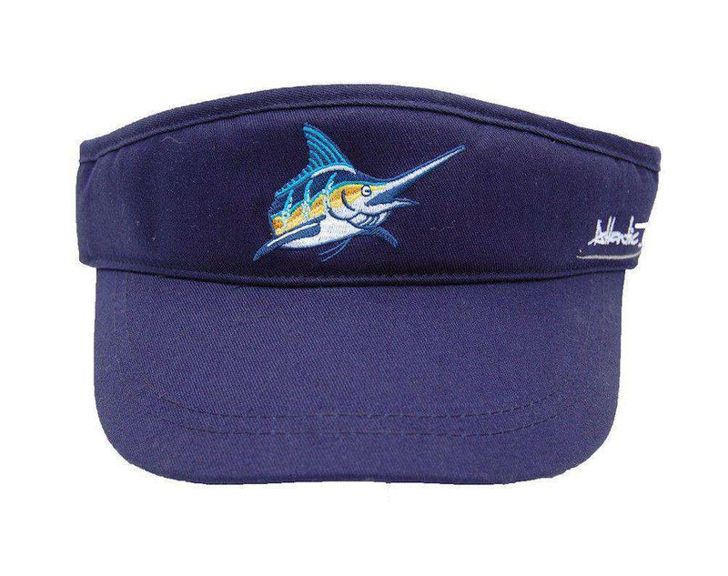 Tour Visor in Navy by Atlantic Drift - FINAL SALE