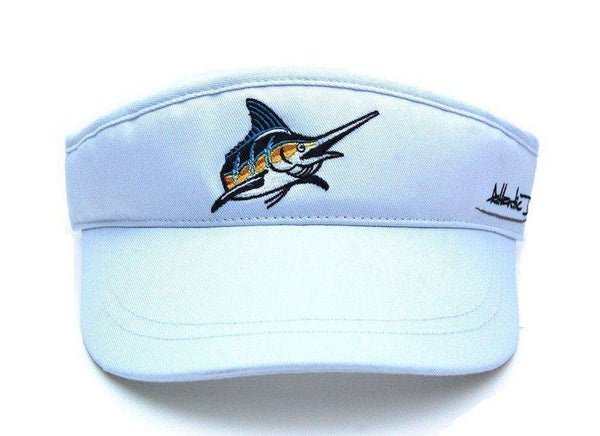 Hats/Visors - Tour Visor In White By Atlantic Drift - FINAL SALE