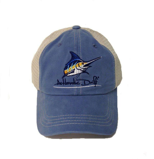 Hats/Visors - Truck Hat In Stellar Blue By Atlantic Drift - FINAL SALE