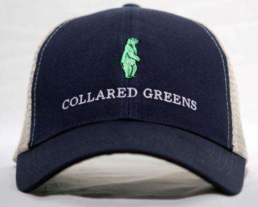 Trucker Hat in Evening Navy Blue by Collared Greens