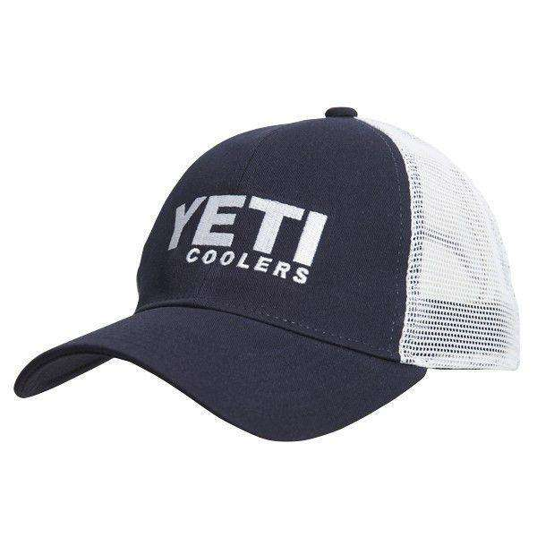 Hats/Visors - Trucker Hat In Navy By YETI