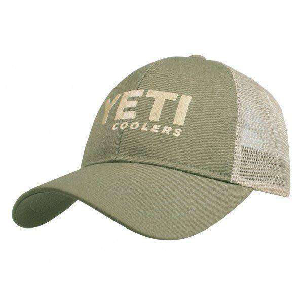 Hats/Visors - Trucker Hat In Olive Green By YETI
