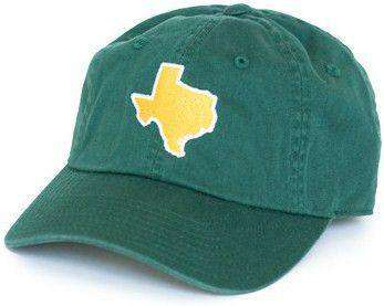 TX Waco Gameday Hat in Green by State Traditions
