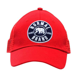 University Bear Cap in Red by The Normal Brand