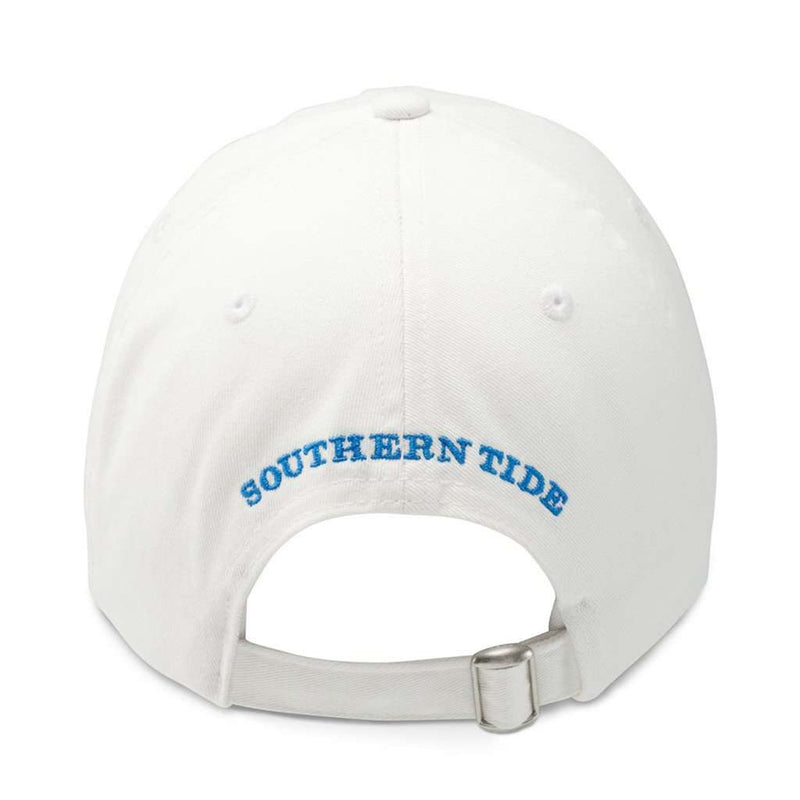 University of South Carolina Gameday Skipjack Hat in White by Southern Tide