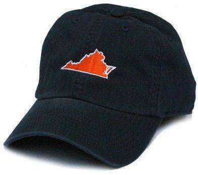 Hats/Visors - VA Charlottesville Gameday Hat In Navy By State Traditions