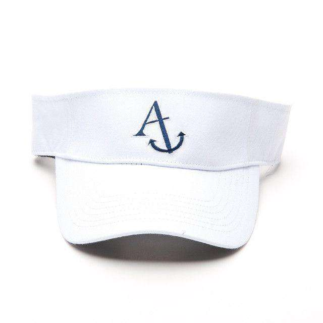 Visor in White by Anchored Style