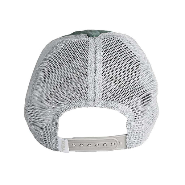 Hats/Visors - Washed Low Pro Trucker Hat In Green By YETI