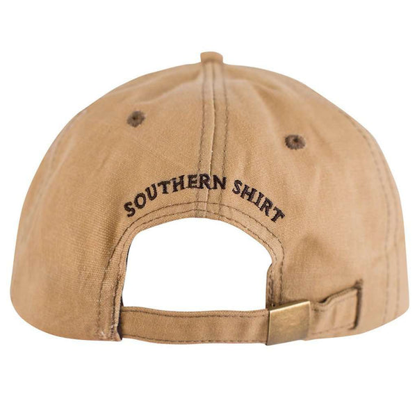 Waxed Canvas Hat in Khaki by The Southern Shirt Co.