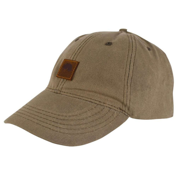Hats/Visors - Waxed Canvas Hat In Pine Bark By The Southern Shirt Co.