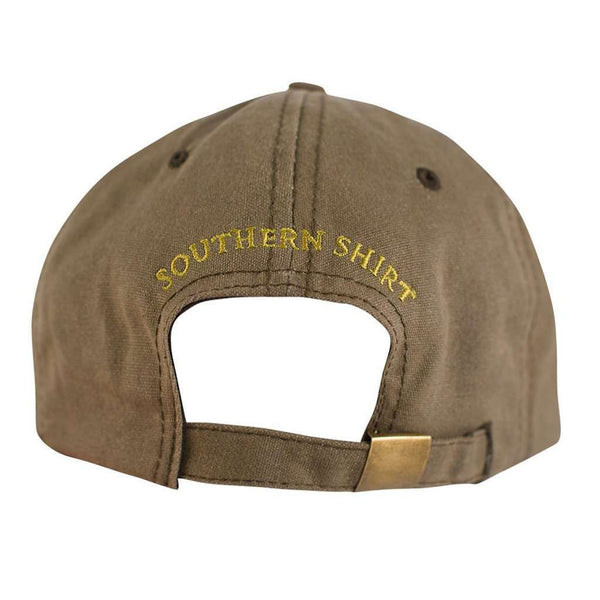 Waxed Canvas Hat in Pine Bark by The Southern Shirt Co.