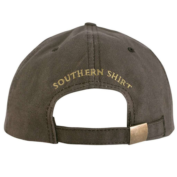 Waxed Canvas Hat in Tobacco by The Southern Shirt Co.