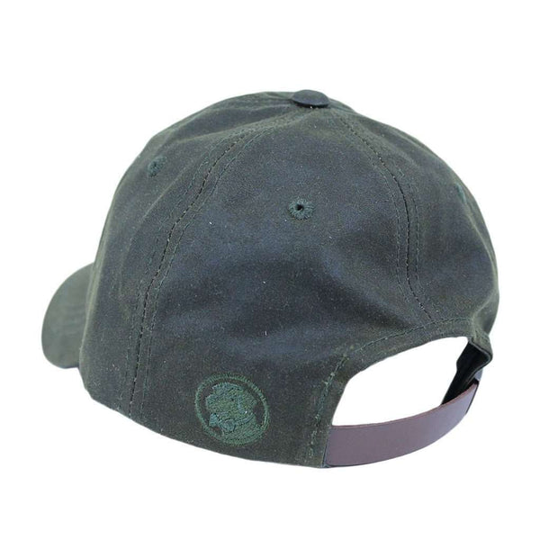 Hats/Visors - Waxed Hat In Olive By Southern Proper