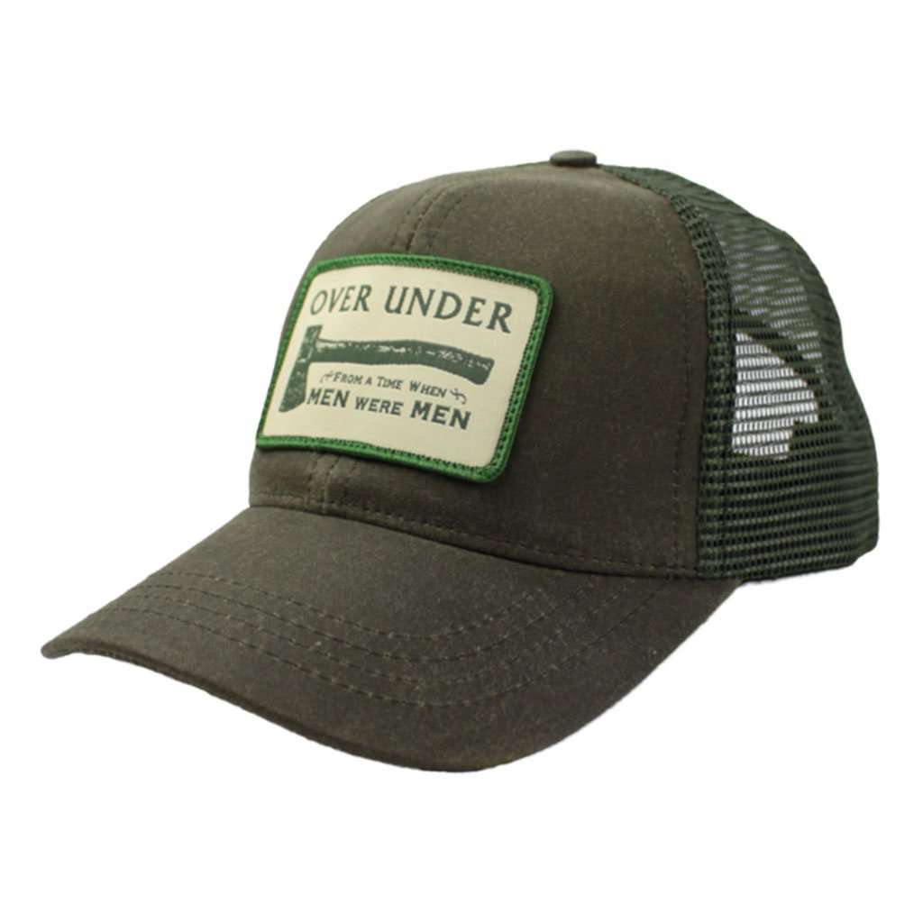 Over Under Clothing When Men Were Men Mesh Back Hat – Country Club Prep 4ce26908104