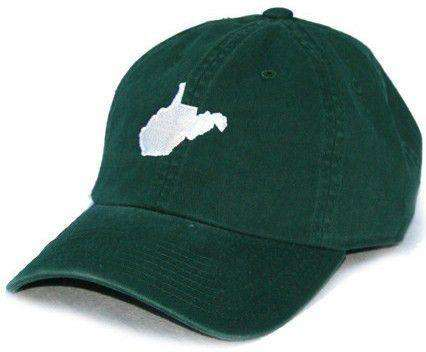 WV Huntington Gameday Hat in Green by State Traditions
