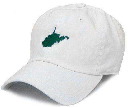 WV Huntington Gameday Hat in White by State Traditions